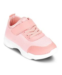 Kittens Shoes Velcro Closure Casual Shoes - Pink