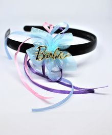 Barbie By Many Frocks & Net Flower Ribbon Detailed Hair Band - Blue
