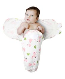 Kassy Pop Adjustable Swaddle Wrap Unicorn Print - White