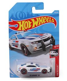 Hot Wheels Racetrack Talkers Rescue Die Cast Cars - (Color & Design May Vary)