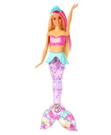 Barbie Dreamtopia Sparkle Lights Mermaid Pink - Height 29.5 cm