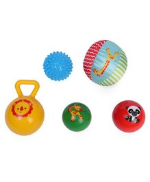 Fisher Price Basic Elementary Training Balls Multicolor (Set of 5 Balls)