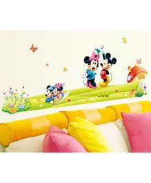 Syga Disney Mickey & Minnie Wall Sticker - Multicolor