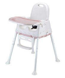 Syga Height Adjustable High Chair - Pink