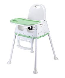 Syga Height Adjustable High Chair - Green