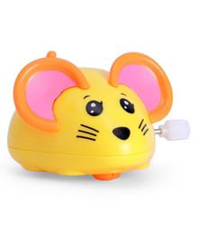 Wind Up Mouse Toy - Yellow