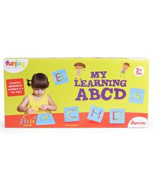 Funjoy My Learning ABCD Board Game - Multicolour