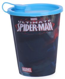 Marvel Spiderman 3D Print Sipper Cup With Lid (Color May Vary)