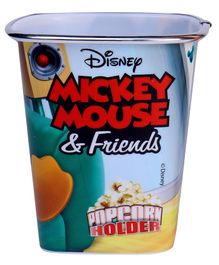 Disney Mickey Mouse & Friends Square Popcorn Holder - Blue