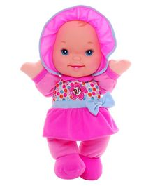 Baby's First GigglesDoll Pink - Height 33 cm