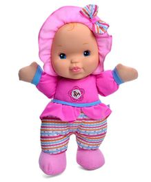 Baby's First Kisses Doll - Pink Height - 33 cm