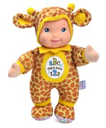 Baby's First Singing and Learning Giraffe Musical Toy - Yellow
