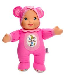 Baby's First Sing & Learn Doll Pink - Height 28 cm