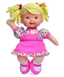 Baby's First Little Talker Fashion Doll Pink - Height 32 cm