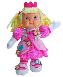 Baby's First Play & Learn Princess Doll Pink - Height 32 cm