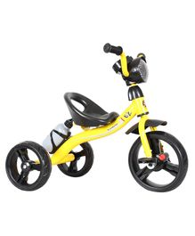 EZ' Playmates Super Tricycle With Music And Bottle Holder - Yellow