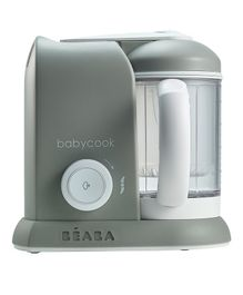 Beaba Babycook Solo 4 in 1 Steam Cooker & Blender - Grey