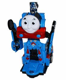 Planet of Toys Remote Control Thomas Train Cum Robot - Blue