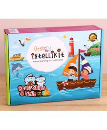 FirstCry Intellikit Seas, Ships & Sails Kit (2 - 3 Y)