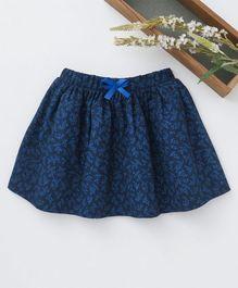 f66b96e1c96 Babyhug Mid Thigh Length Printed Skirt - Navy Blue