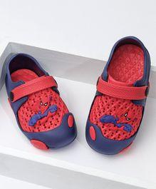 b5b5e3dce Marvel Spider Man Clogs - Navy Blue Red