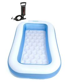 Intex Swimming Pool 6 Ft With Hand Pump - Multi Colour