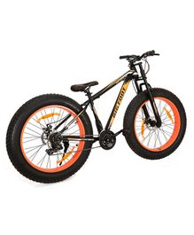 GetBest Big Foot Fat Tire Bicycle Orange - 23 inches