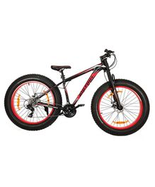 GetBest Big Foot Fat Tire Bicycle Black Red - 23 inches