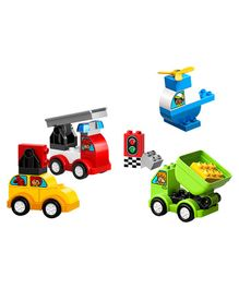 Lego Duplo My First Car Creations Multicolour - 34 Pieces - 10886
