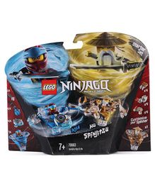 Lego Ninjago Spinjitzu Nya & Wu Multicolour - 227 Pieces - 70663