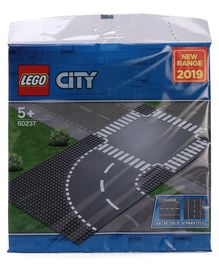 Lego City Curve and Crossroad Multicolour - 2 Pieces - 60237