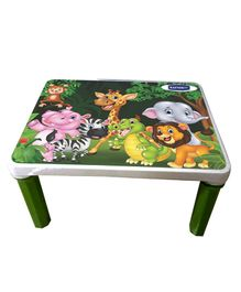 Kuchicoo Jungle Print Bed Table - Green