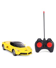 Remote Control Toy Car - Yellow