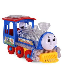 Musical Bump & Go Toy Train - Blue Red