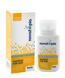Novatopia Emollient Milk Bath Cleanser - 150 ml