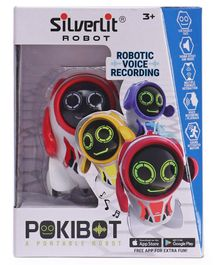 SilverLit Pokibot With Sound Effect And Music- Red