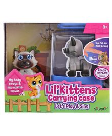 SilverLit Lil'Kittens DigiKittens With Carrying Case (Styles May Vary)