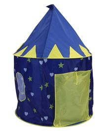 Star Printed Play Tent - Blue