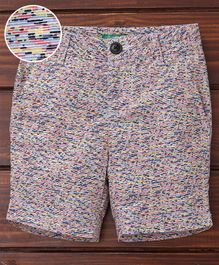 UCB Printed Shorts - Multicolour