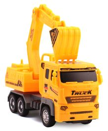 Hrijoy Excavator Truck Toy - Yellow