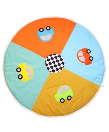 Kadam Baby Play Mat Car Print - Multicolor