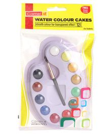 Camel Student Water Color Cakes Multi Color - 12 Shades