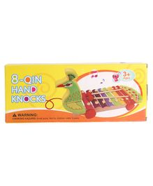 Hrijoy Hand Knock Bus Shaped Wooden Xylophone - Multicolor
