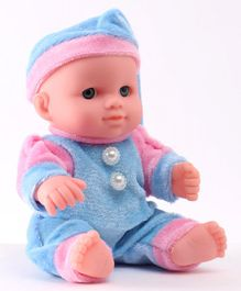 IndiaBuy Darling Lovely Baby Doll Blue - Height 12.5 cm