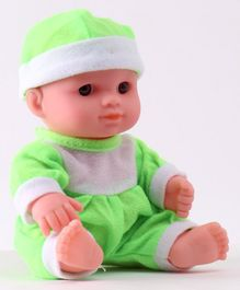 IndiaBuy Darling Lovely Baby Doll Green - Height 12.5 cm