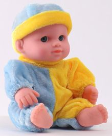 IndiaBuy Darling Lovely Baby Doll Yellow - Height 12.5 cm