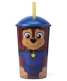 Paw Patrol Tumbler With Straw Blue - 400 ml