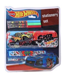 Hot Wheels Stationery Set Multicolour - Set Of 6 Pieces