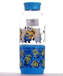 Minions Snack Tritan Bottle Rules Blue - 475 ml