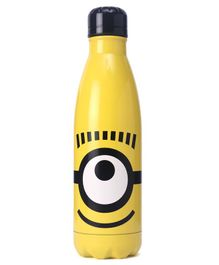 Minions Young Adult Stainless Steel Bottle Yellow - 780 ml